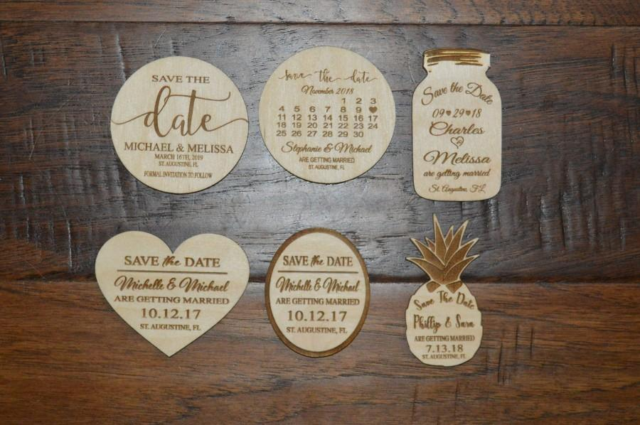 Mariage - Save the date Magnet, Save the Date magnets, Save The Date, Wood Save The Date Magnet, Personalized Save The Date Magnet, Wedding