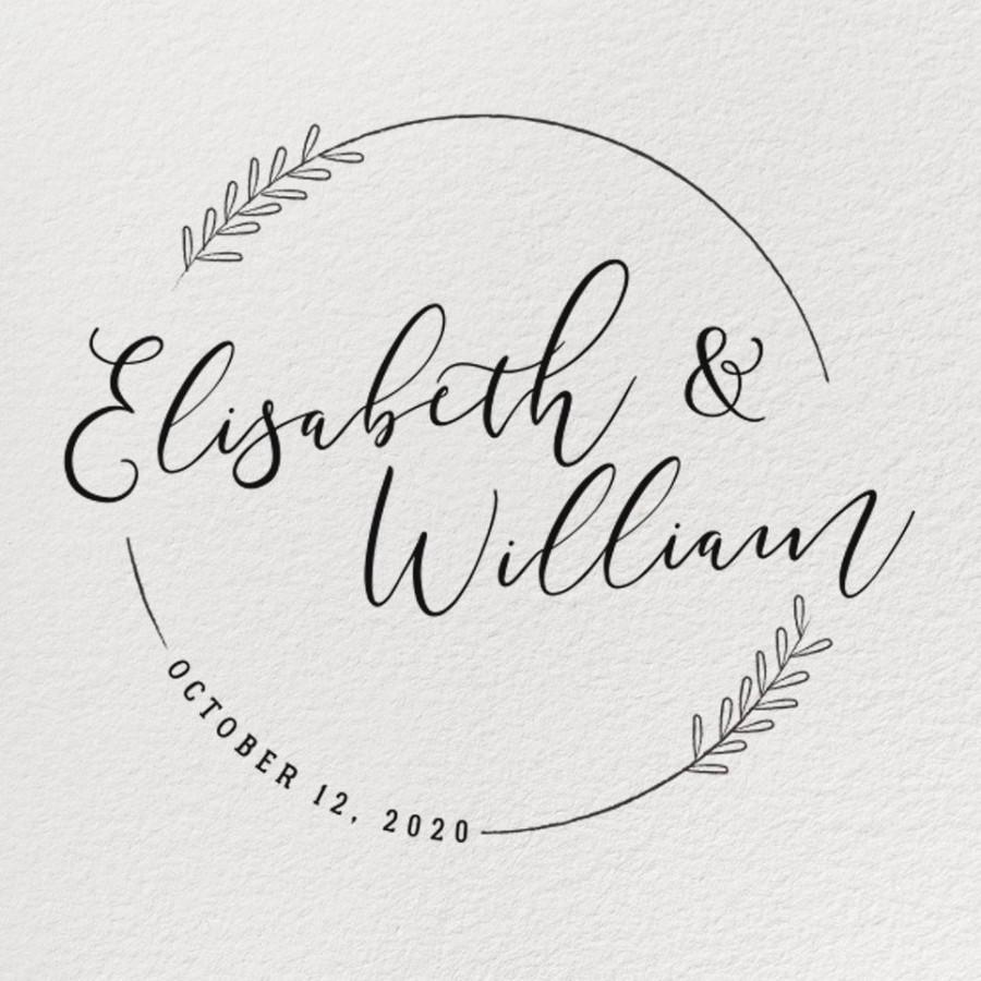 8318cd04bd RUBBER WEDDING STAMP, Wedding Stamp, Personalized Rubber Stamp ...