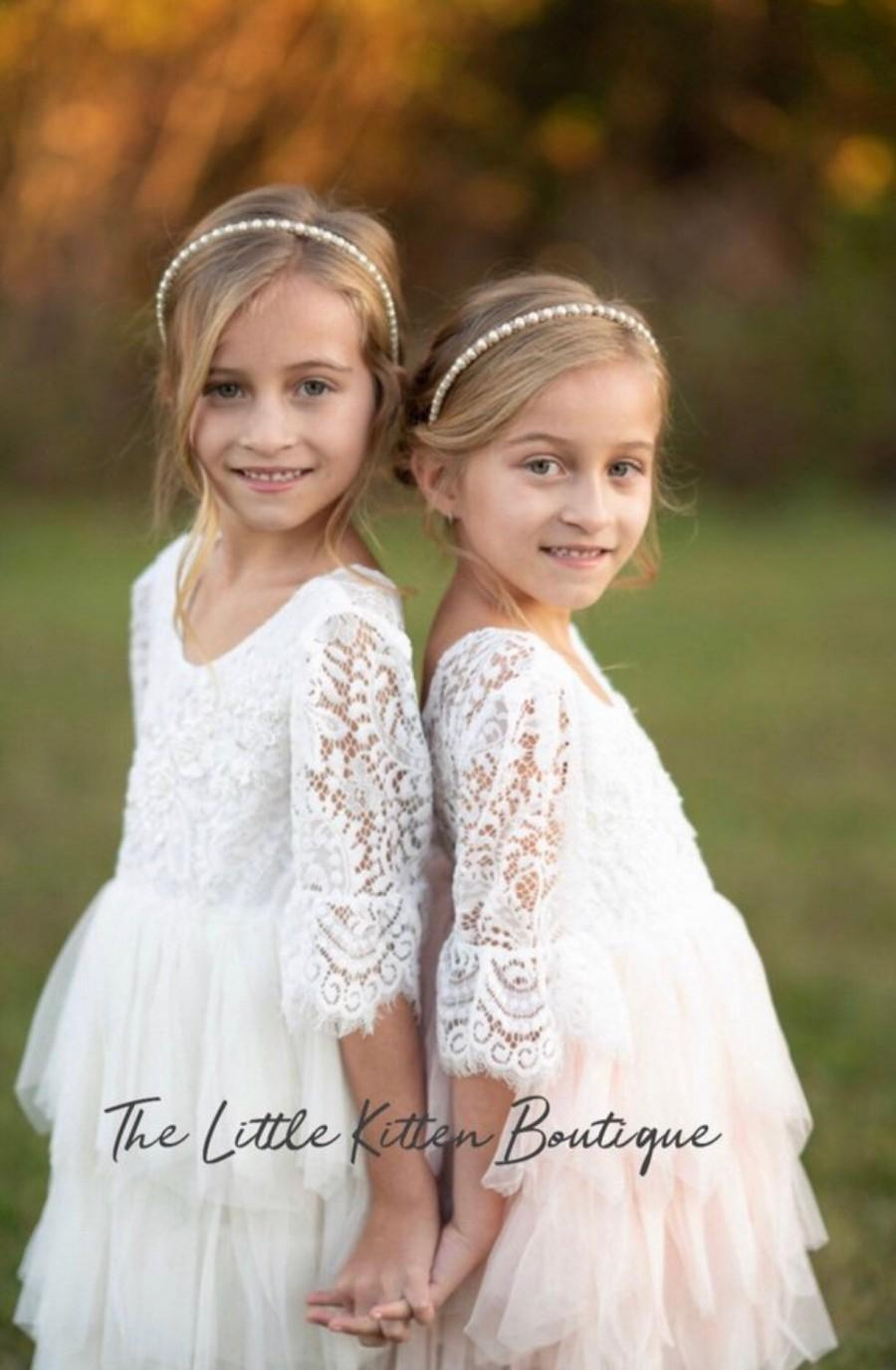 764fc408cd9cc Rustic Flower Girl Dresses With Boots - raveitsafe