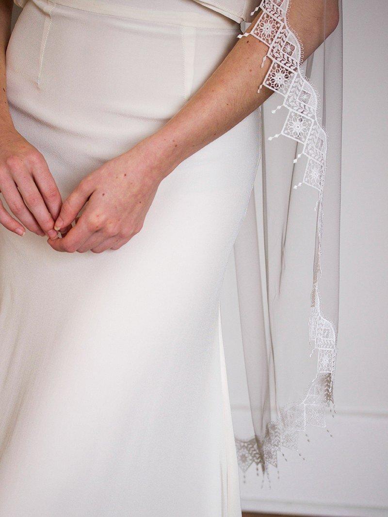 Mariage - Boho Fringer Veil