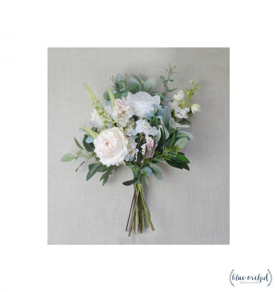 Hochzeit - Boho Bouquet, Wedding Bouquet, Wedding Flowers, Bridal Bouquet, Silk Flowers, Artificial Wedding Flowers, Wedding Flower Set, Wildflower