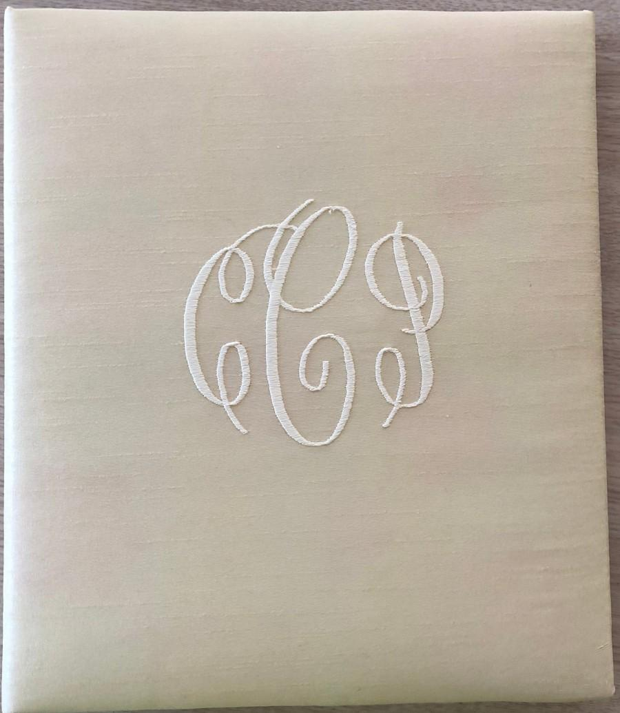 Wedding - Monogrammed Wedding Book