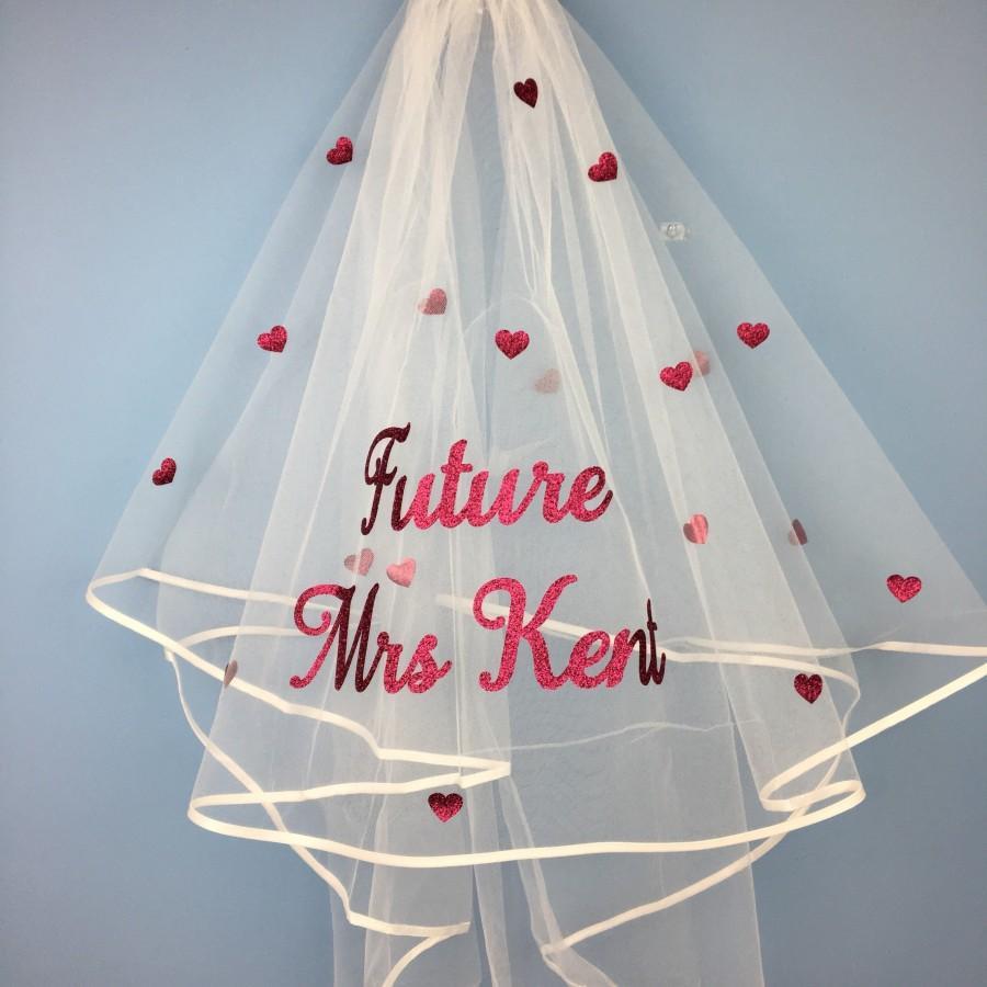 Wedding - Hen party Veil, Bride To Be, Bride, Bride to be Veil, Veil, Hen Party, Hen Party, Bachelorette Party, Wedding, Hen Do Veil