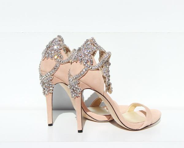 Свадьба - Nude Sandal Silver