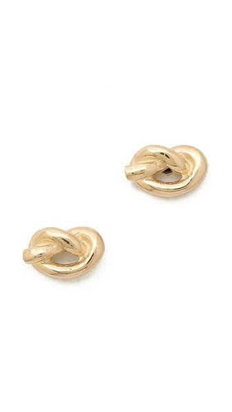 زفاف - Love Knot Stud Earrings / Ariel Gordon Jewelry