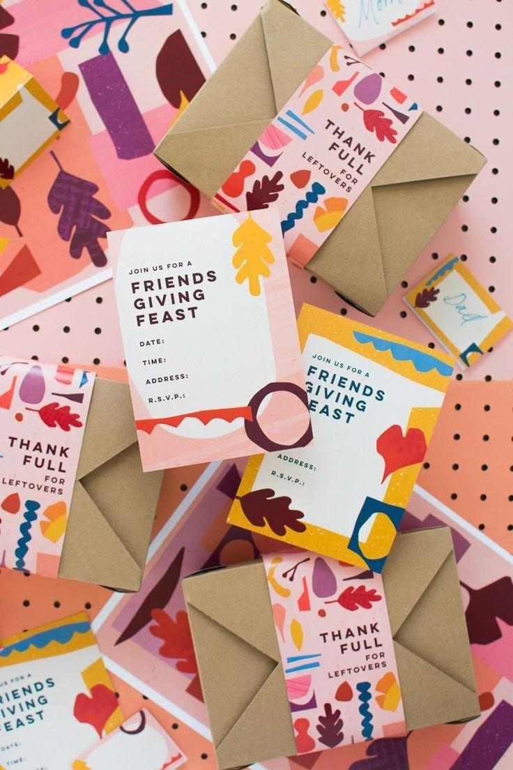 Wedding - Friendsgiving Printables