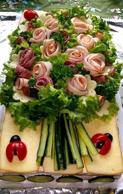 Wedding - Meat Tray