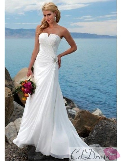 Mariage - Beach Wedding Dress Beach Wedding Dress