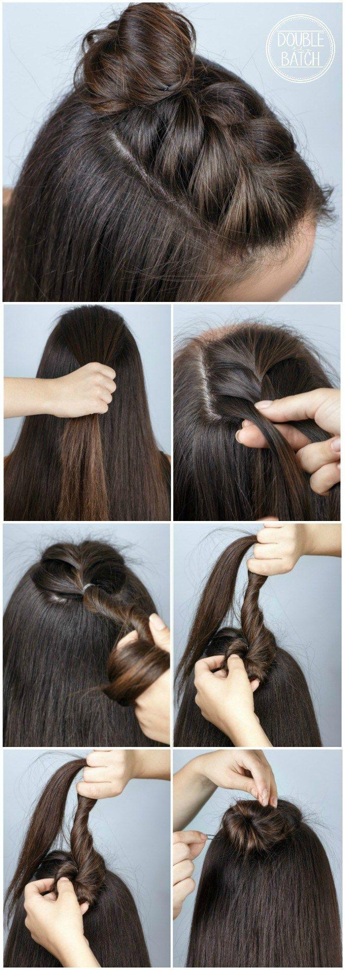 Mariage - Fun Way To Change Up Your Hair! Cute Half Braid! Love This Easy Hairstyle