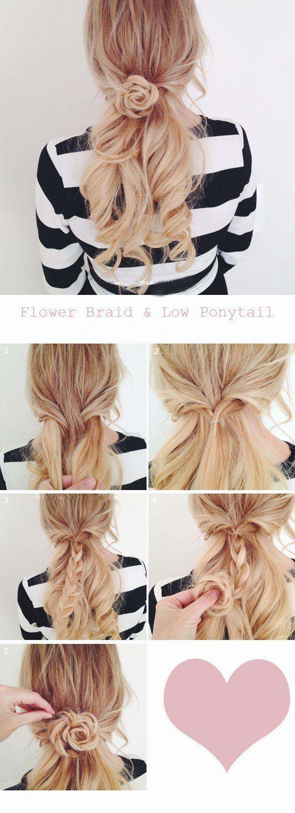Mariage - Flower Braid