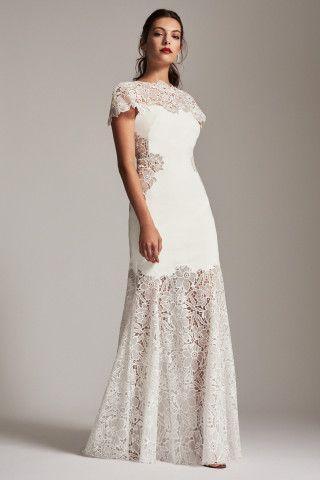 Hochzeit - Tadashi Shoji Anika Mermaid Gown