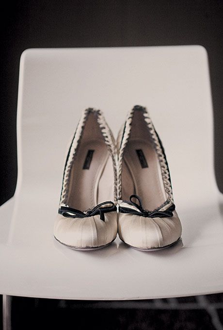 "Wedding - ""When I Bought The Shoes In London Seven Years Ago, I Knew I'd Wear Them On My Wedding Day."""