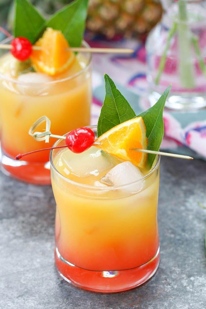 Wedding - The Best Mai Tai Cocktail Recipe