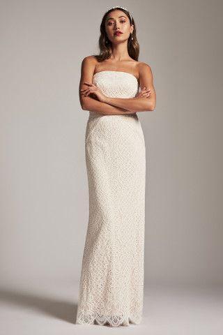 Wedding - Tadashi Shoji Adela Strapless Gown