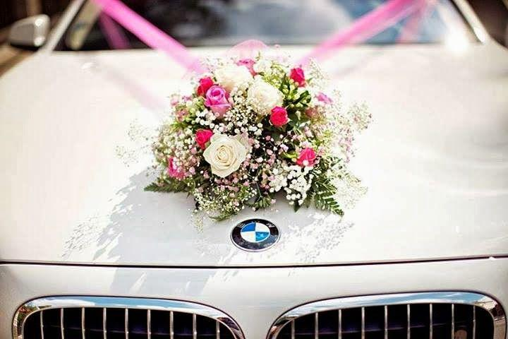 Свадьба - Decoration8059 Modern Wedding Car Decoration Ideas