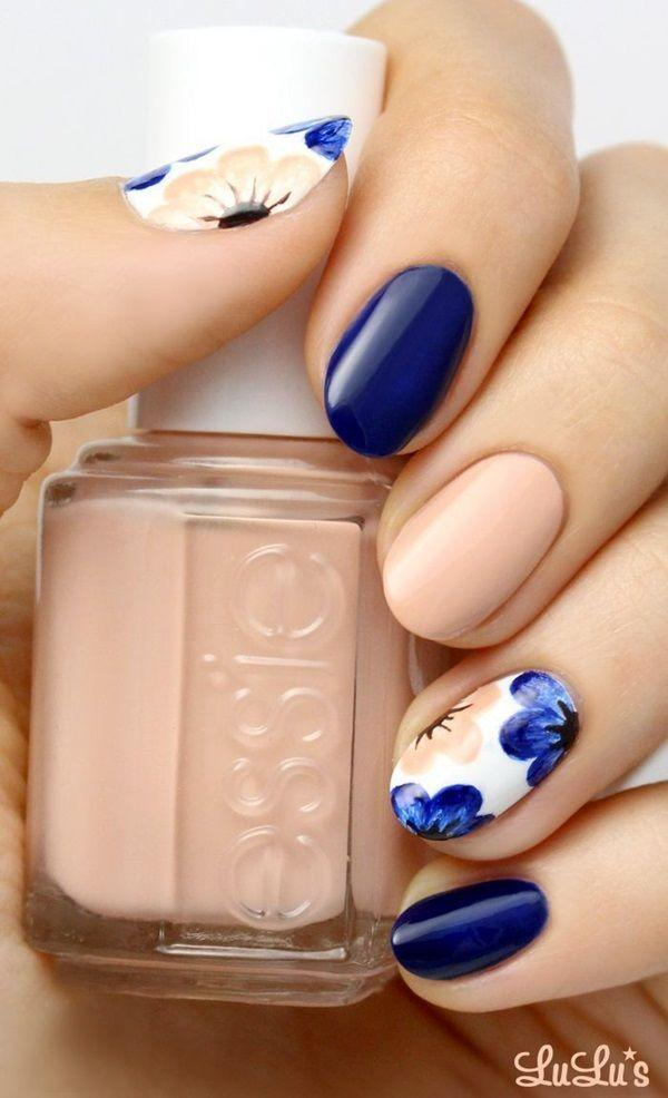 Wedding - 45 Spring Nails Designs And Colors Ideas 2016