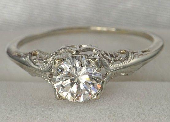 Hochzeit - Vintage Wedding .. Ring