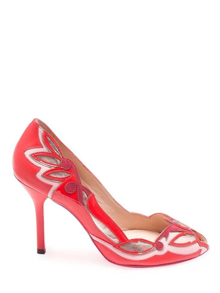 Wedding - Peep Toe Salto Alto Tlp003v14 -  ZEFERINO                        $ 847,00
