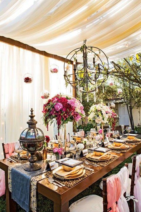 Wedding - 29 Adorable Steampunk Wedding Table Settings