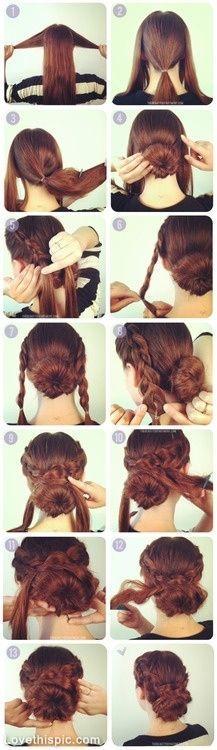 Hochzeit - DIY Hair