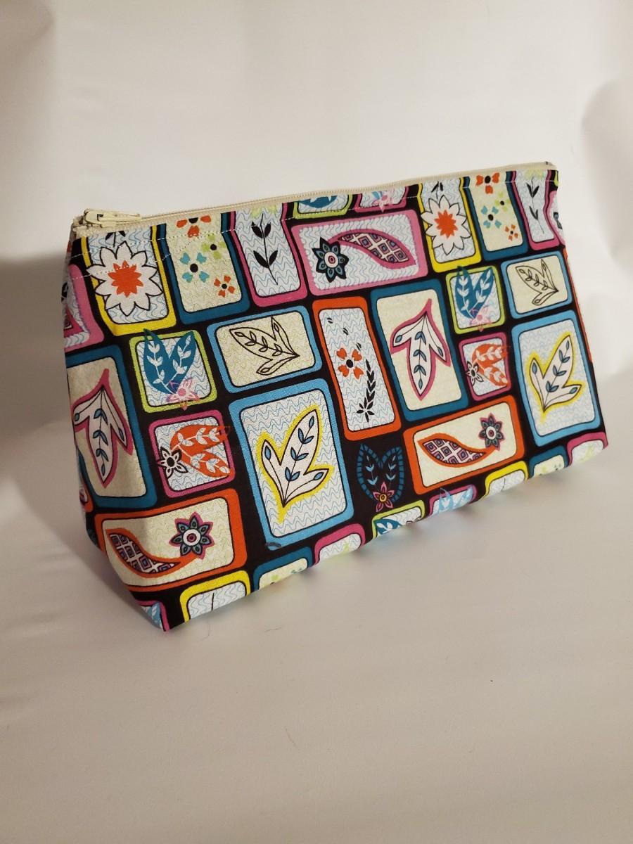 Hochzeit - Cosmetic Bag - Makeup Bag - Travel Bag