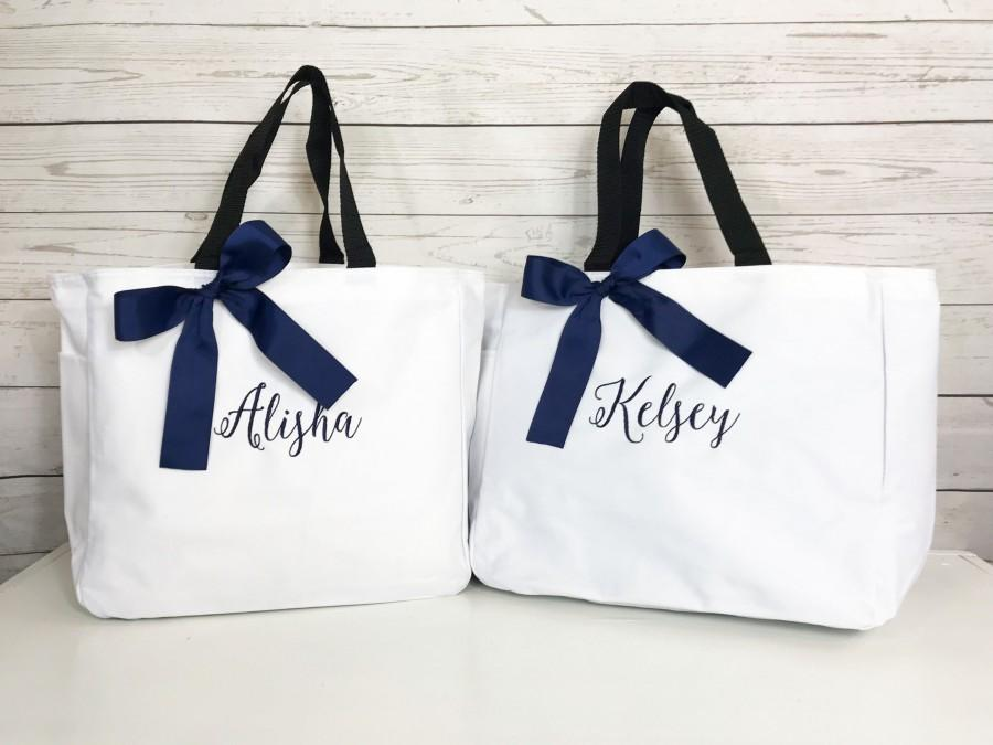 Mariage - Personalized  Cheer Team Tote Bags - Monogrammed Tote - Tween Gift - Dance team Tote bag- Quinceanera - Sweet 16 Personalized Bags (ESS1)