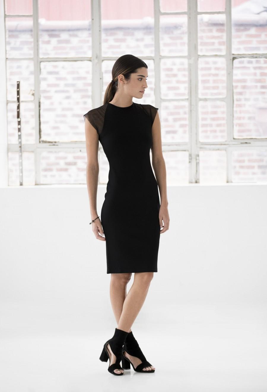 Свадьба - Stylish Dress / Pencil Dress / Fitted Dress / Extravagant Dress / Mesh Dress / Cocktail Dress  / Marcellamoda - MD1012