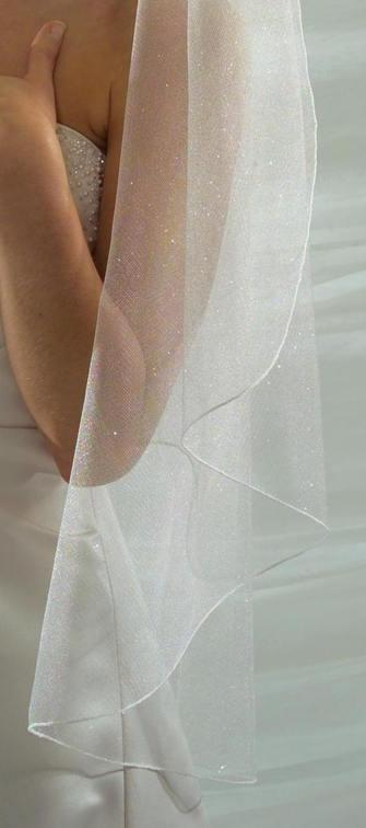 Свадьба - Angel Dust Sparkling Tulle Wedding Veil Elbow, Fingertip, Waltz, Floor, Chapel or Cathedral wedding Veil- Free Samples