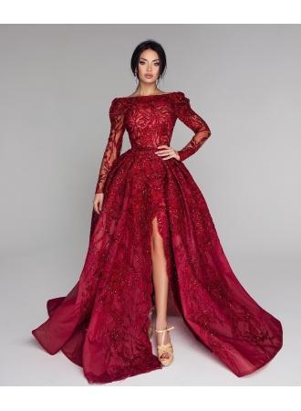 Свадьба - Luxus Abendkleider Mit Ärmel