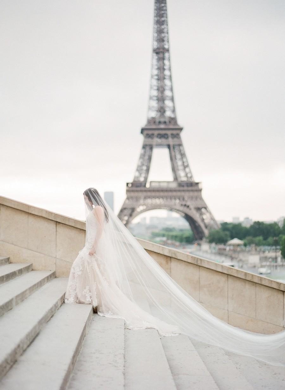 زفاف - blusher veil, 2 tier wedding veil, two tier veil,  cathedral veil, blusher veil chapel, cathedral drop veil, long wedding veil - ADDISON