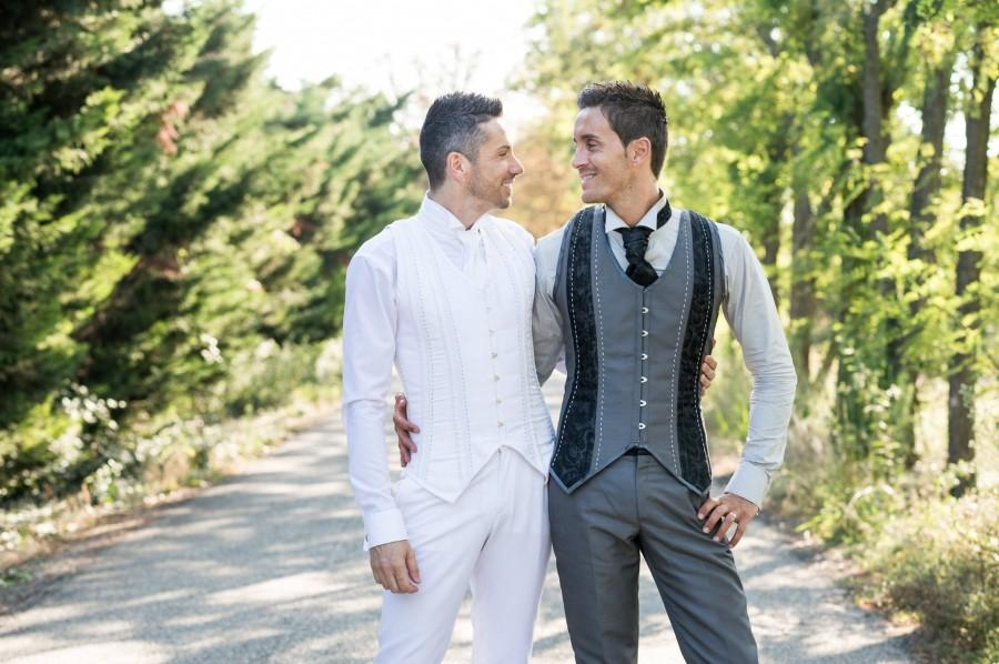 Wedding - Hand made. Titelle Couture. Elegant CORSET vest for men in Brocade with Busk held single original Mary Dandy gentleman jacket