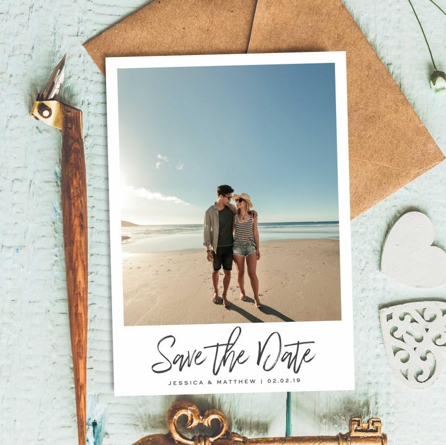 Wedding - Save The Date Wedding, Cheap Save The Date, Simple Save The Date Invitation, Elegant Save The Date Card, Classic Save The Date, Save Our