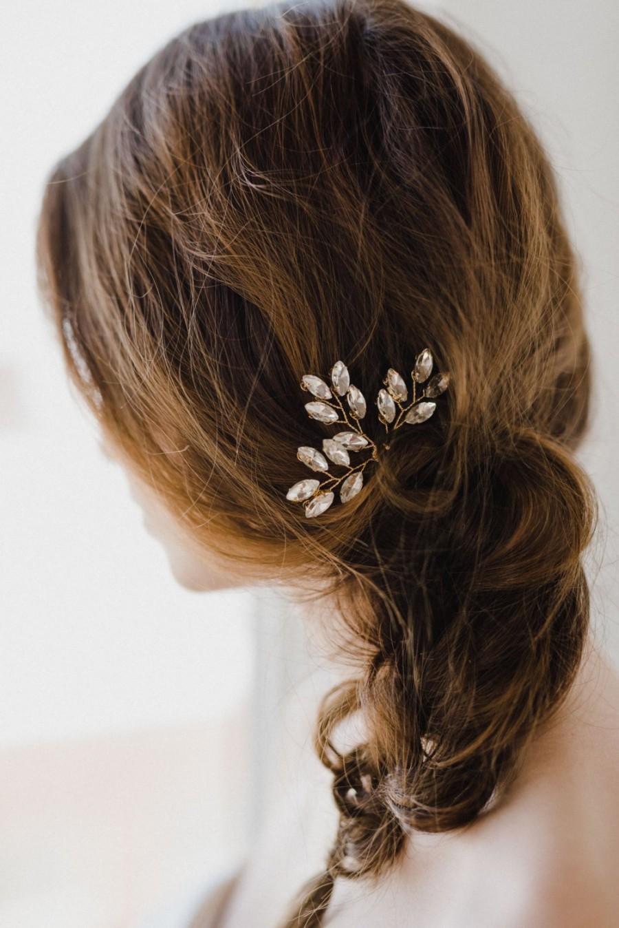 Hochzeit - Crystal Hair Pins