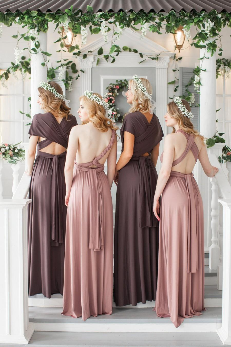 Hochzeit - Sage infinity dress, Green Bridesmaid dress, prom dress, mint, twist dress, convertible dresses, cocktail dresses, multiway dress