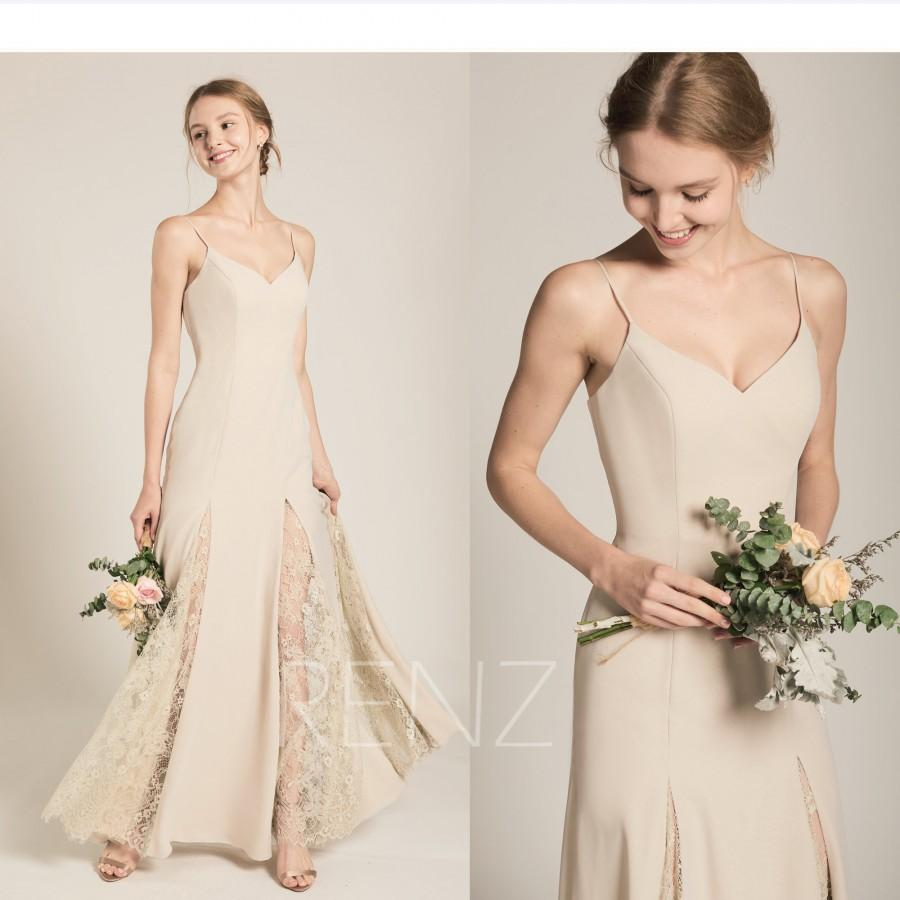 f9cea45d68d Cream Chiffon Bridesmaid Dresses - Data Dynamic AG