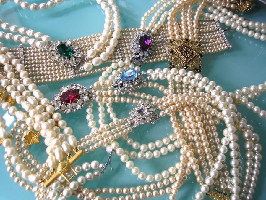 Hochzeit - Vintage Sadie Green Jewellery Set