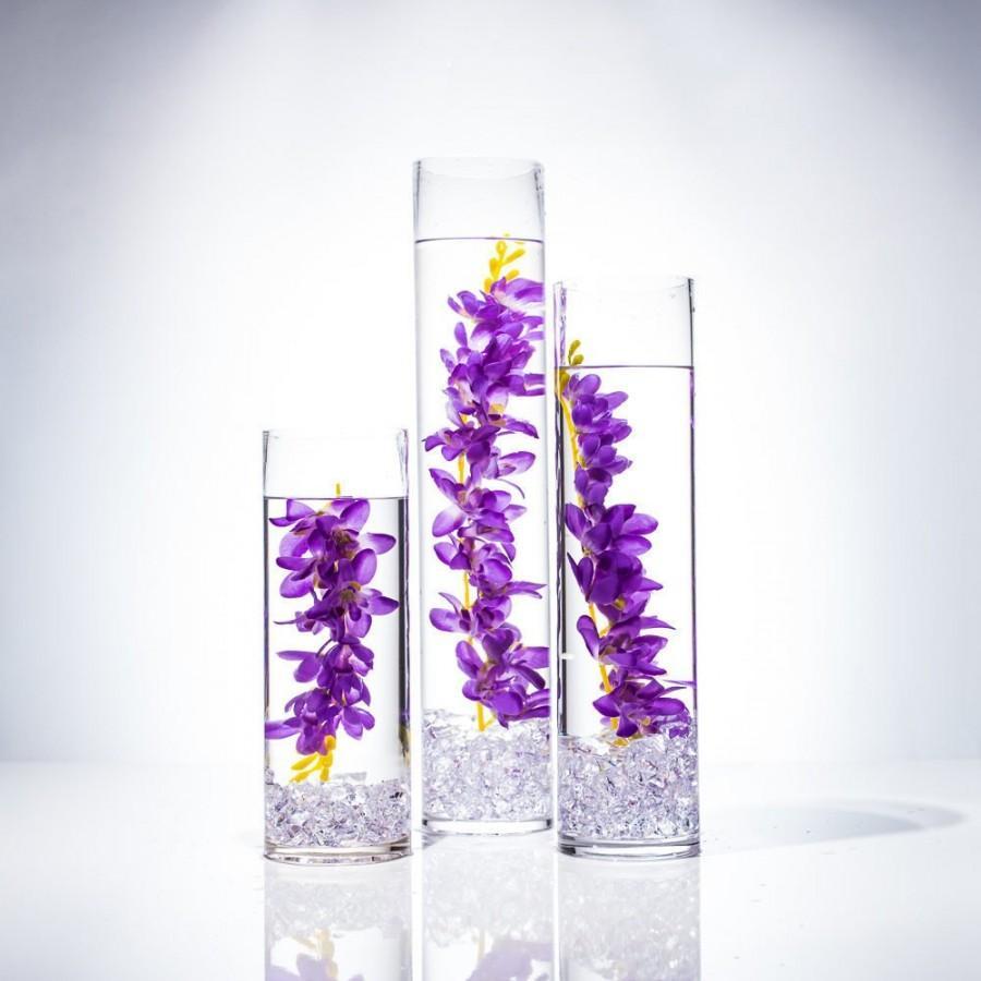 Wedding - Dendrobium Orchid /Purple Orchids/ Pink Orchid/Lavender Orchid /Wedding Centerpieces/Home Decor/Faux Flowers/Silk Flowers/Flower Bouquet