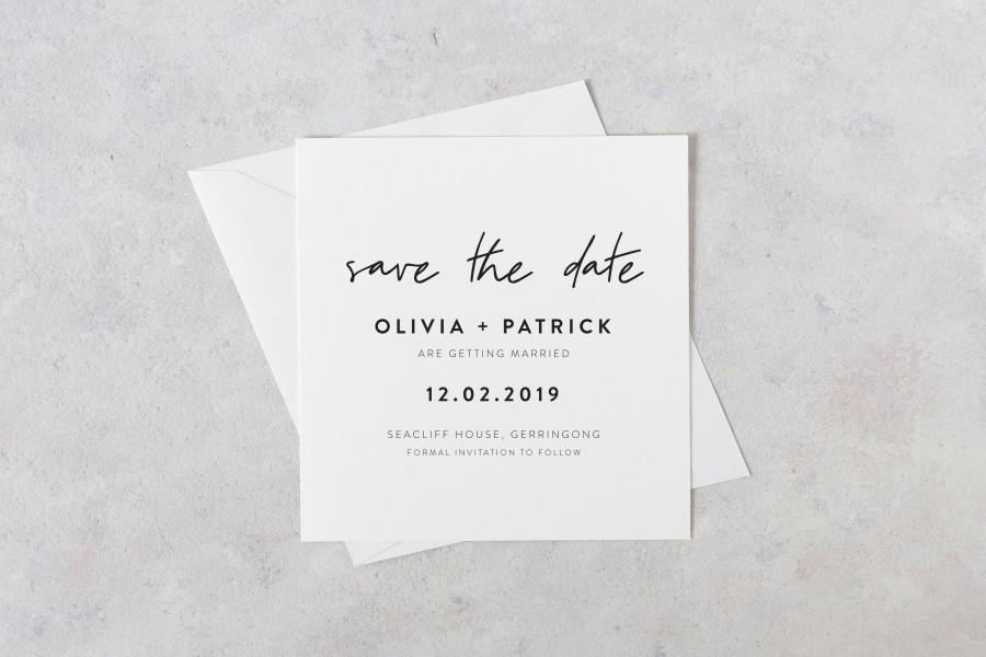 Mariage - Printable Save the Date