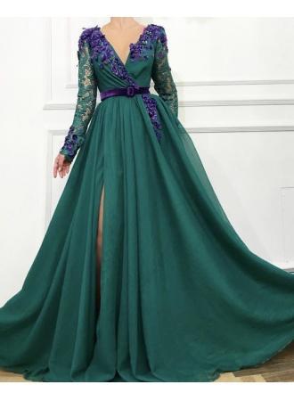 Свадьба - Elegante Abendkleider Mit Ärmel