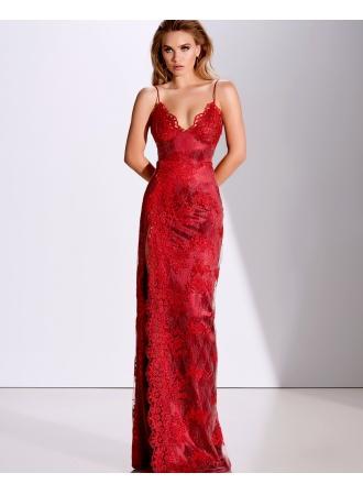 Свадьба - Fashion Abendkleider Lang Rot
