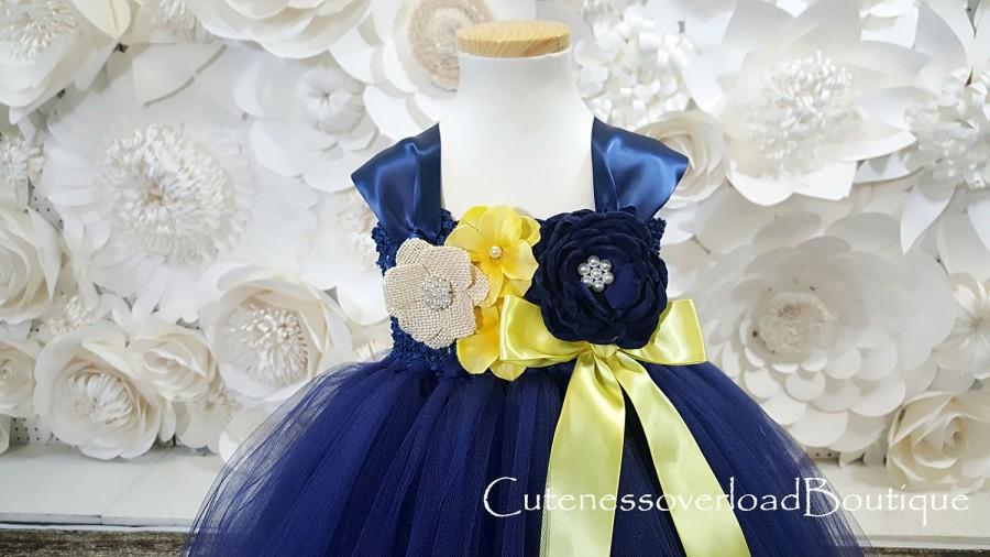 Hochzeit - Navy Flower Girl Tutu Dress-Navy Tutu Dress-Navy Girl Tutu-Navy Wedding Tutu-Navy Girl Tutu-Navy Clothing-Navy Bride.