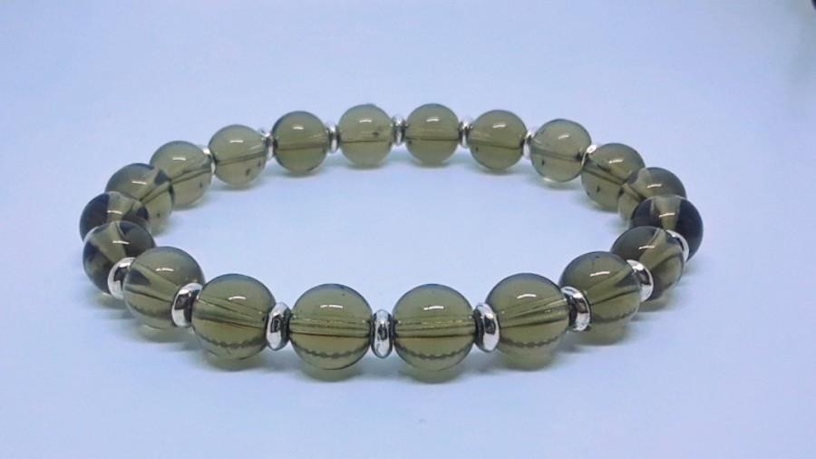 Mariage - Smokey Quartz Crystal Bracelet