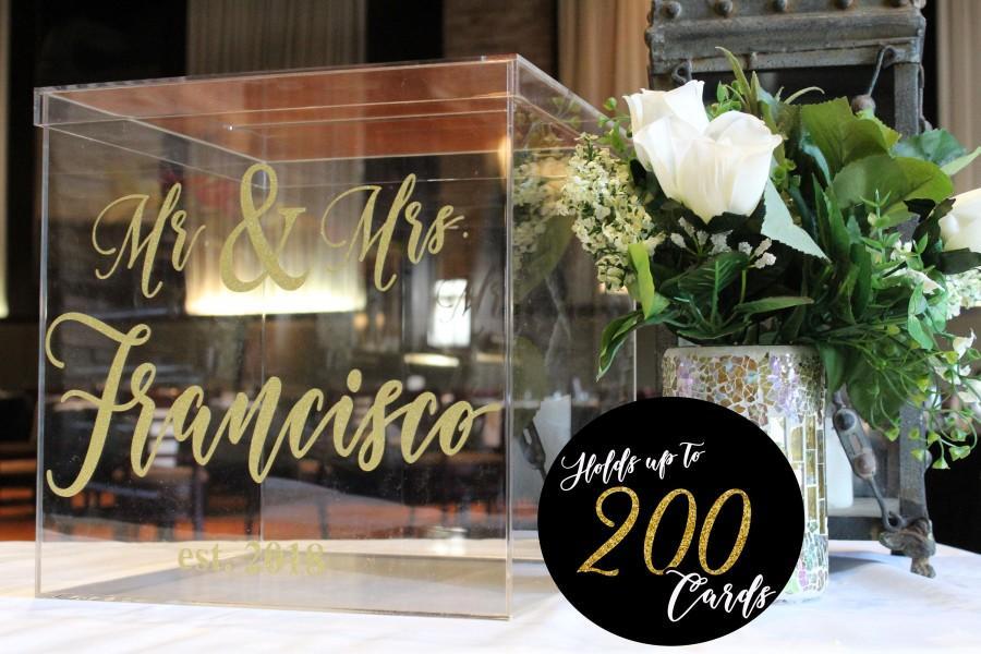 Mariage - SUPREME CUSTOM Wedding Card Box