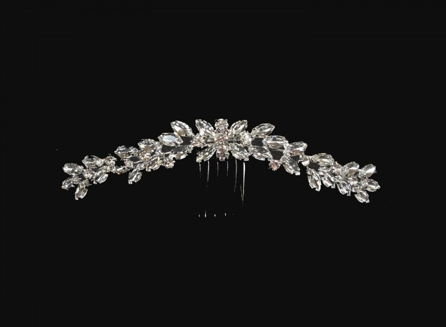 Свадьба - Wedding Hair Comb, Bridal Hair Comb, Crystal Hair Comb, Wedding Haircomb