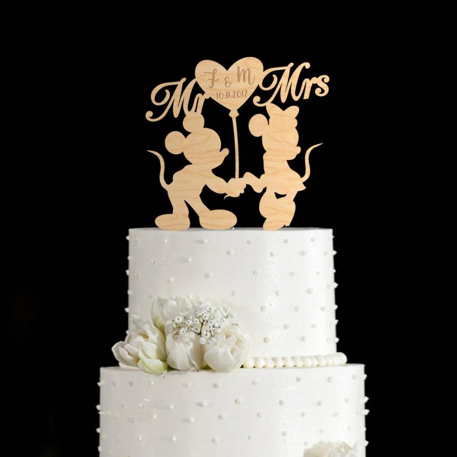 Свадьба - Mickey mouse cake topper,mickey and minnie wedding cake topper,mickey and minnie cake topper,disney wedding cake topper,mickey mouse,661