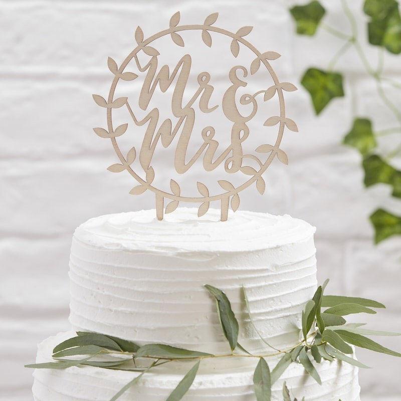 Mariage - Wooden Mr & Mrs Cake Topper, Wedding Cake Toppers, Wooden Cake Topper, Mr and Mrs Cake Topper, Wedding Cake Toppers, Wooden Cake Topper
