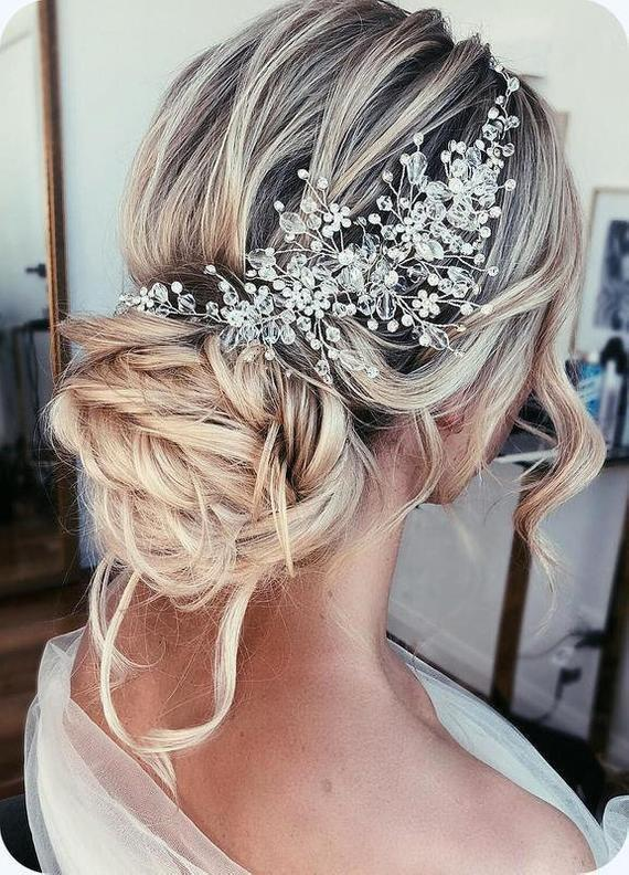 Mariage - Bridal hair piece Wedding hair piece Bridal hair comb Wedding hair comb Bridal headpiece Wedding headpiece Bridal hair clip Bridal hair vine