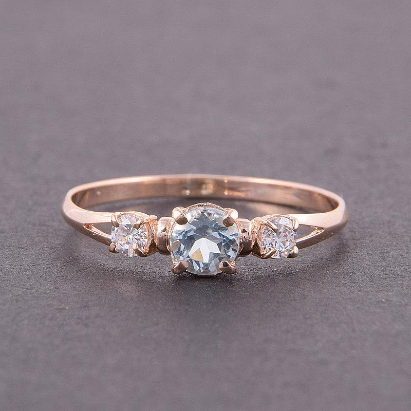 Hochzeit - Topaz ring, Promise ring for her, 3 stone ring, Rose gold ring, Women promise ring, Blue topaz ring, Custom stone ring, Personalized ring