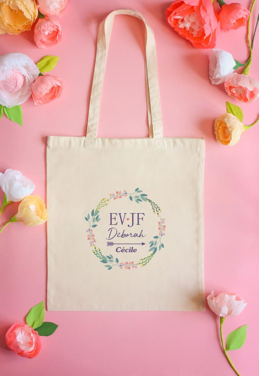 Wedding - Tote bag, bachelorette party, tote bag personalized tote bag bachelor party girl, bachelorette party, wedding, customizable preparation life tote bag, gift