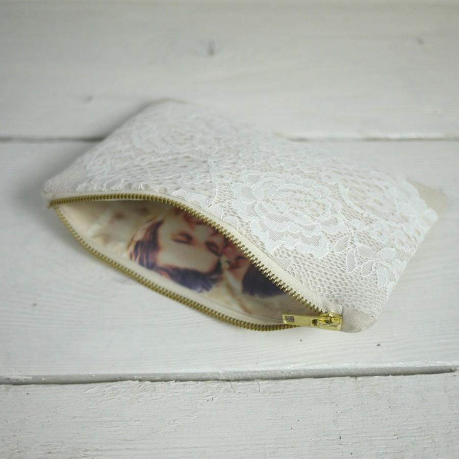 زفاف - Bridal photo clutch